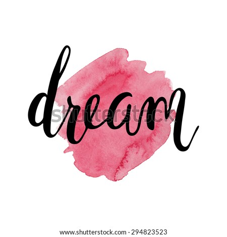 dream handwritten text