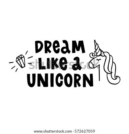 dream like a unicorn the hand