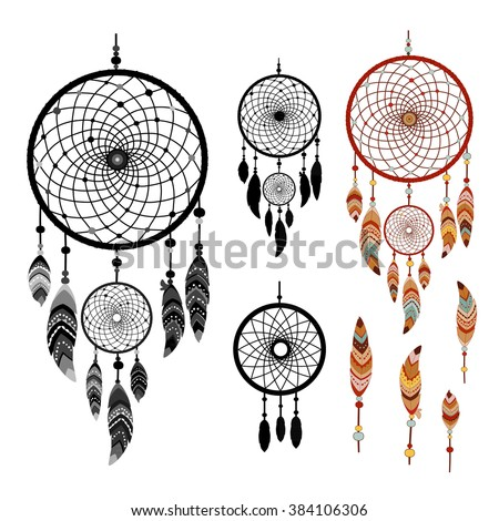 dreamcatcher and feather