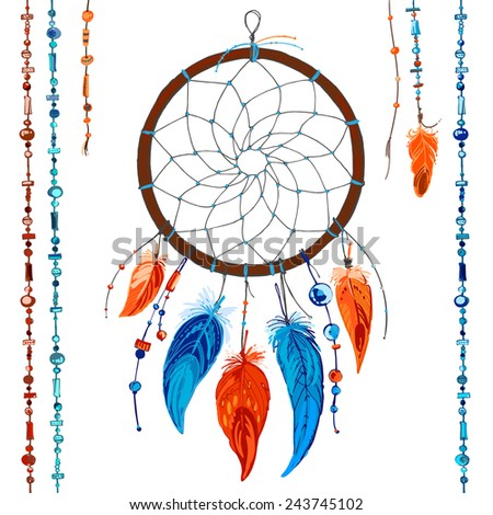 Dream catchers native american symbols and meanings for Dreamcatcher beads meaning