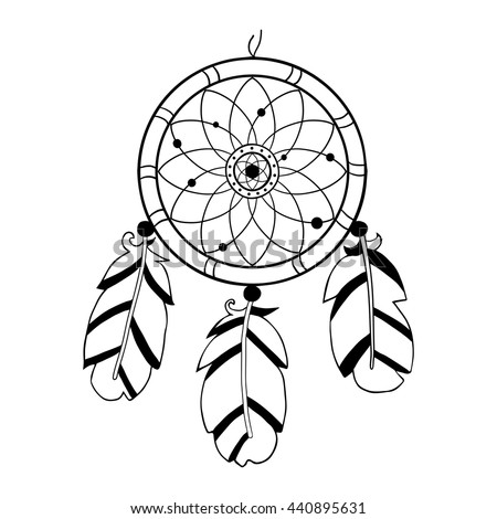 royalty free dreamcatcher feathers and beads 423717247 stock photo. Black Bedroom Furniture Sets. Home Design Ideas