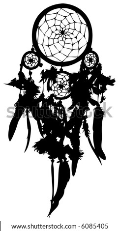 Dreamcatcher (vector)