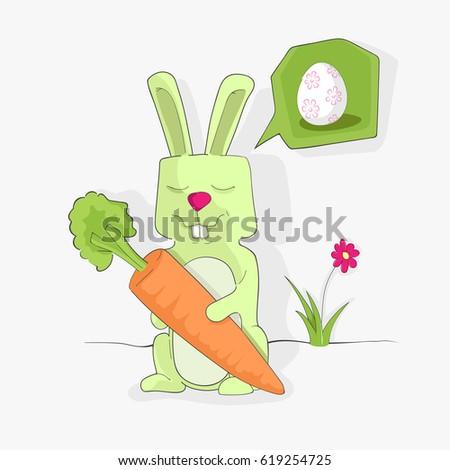 dreaming rabbit easter
