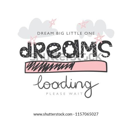 dreams loading concept   vector