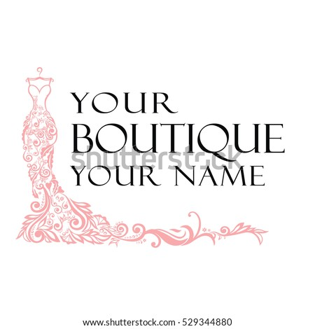 dress boutique bridal logo