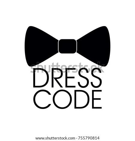dress code icon vector