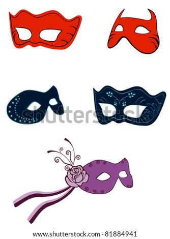 dressing mask decoration