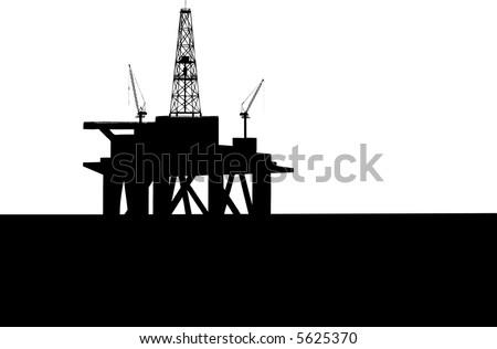 Drilling Platform in sea (see more in my portfolio)