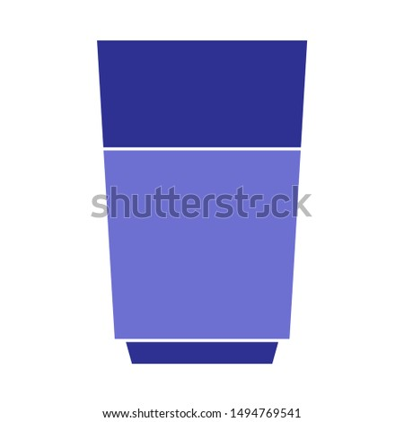 drink icon. flat illustration of drink - vector icon. drink sign symbol