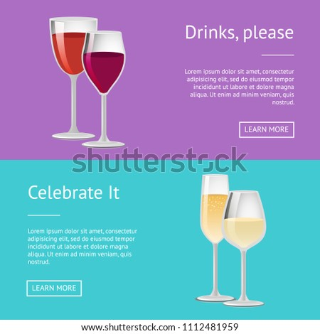 drink please celebrate it pair