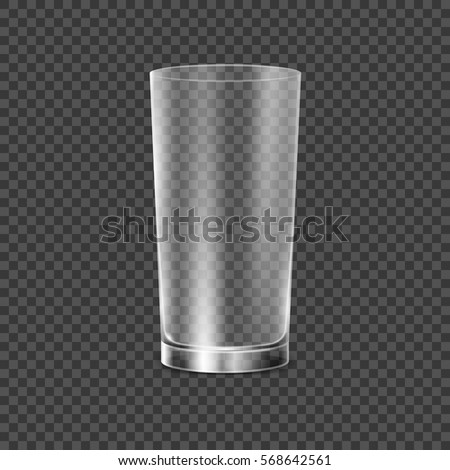 drinking glass cup transparent