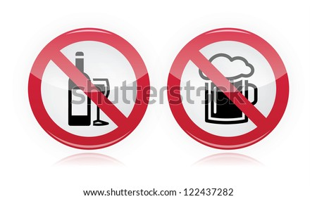 stock-vector-drinking-problem-no-alcohol