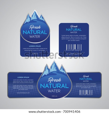 Drinking Water Label #700941406