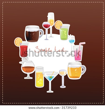 drinks background