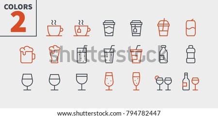 drinks food ui pixel perfect
