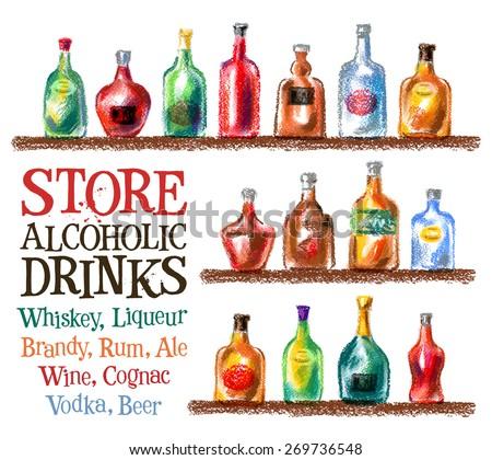 drinks vector logo design