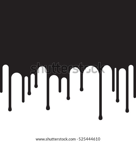 dripping black paint background