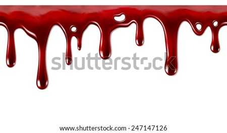 Dripping blood seamless repeatable