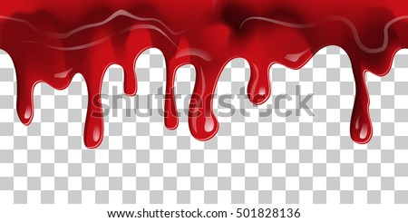 dripping seamless blood flow