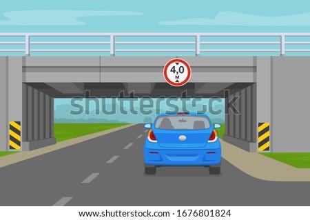 driving a car car going