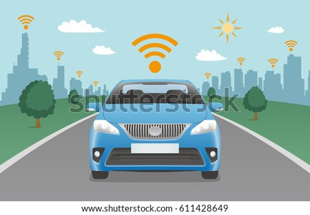 driving car and wireless