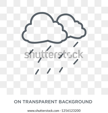 Drizzle icon. Drizzle design concept from  collection. Simple element vector illustration on transparent background.