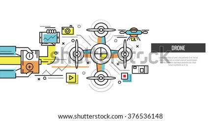 Drone Infographic Vector - Download Free Vectors, Clipart
