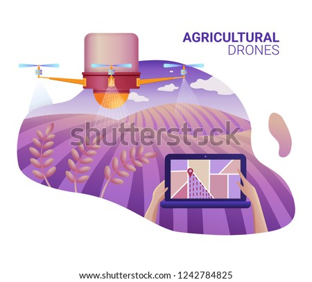 drone or quadcopter for