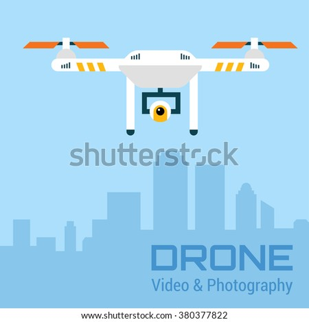 drone with action camera air