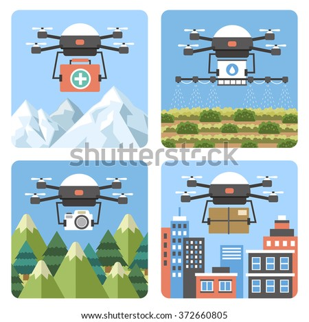 drones applications in