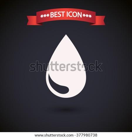 drop icon vector  drop icon