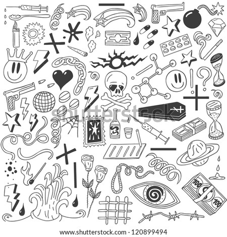drugs   doodles collection