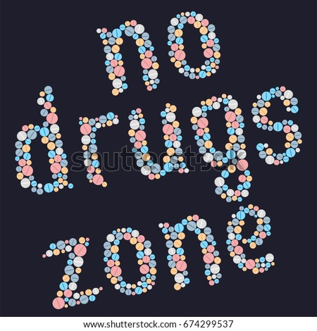 drugs is death the word
