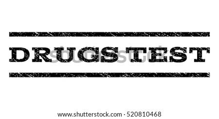 drugs test watermark stamp