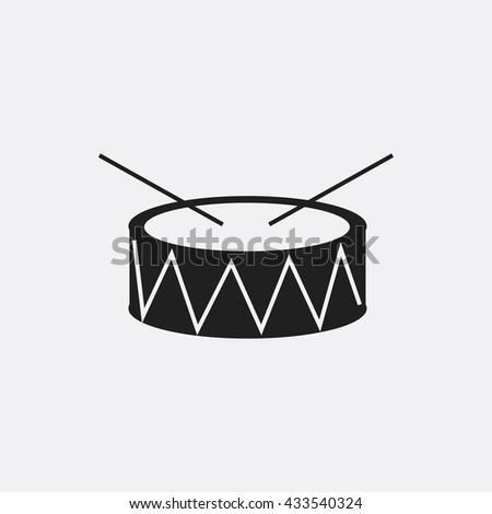 drum icon  drum icon eps10