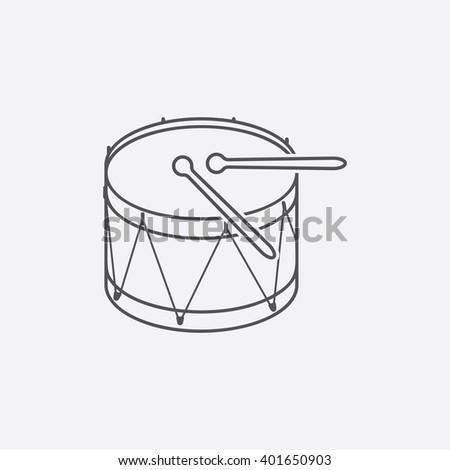 drum icon drum icon vector