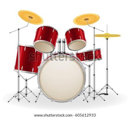 Bongo Drum Vector - Download Free Vector Art, Stock Graphics