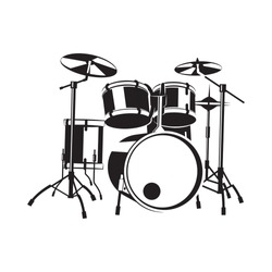 Drum vector. Vector illustration of a musical instrument that plays it the way it hits.