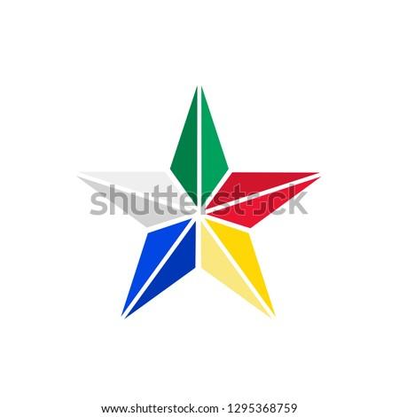 Druze star symbol of Druze religion Lebanon Сток-фото ©