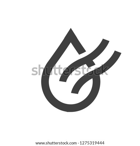 Dry air conditioning icon vector image