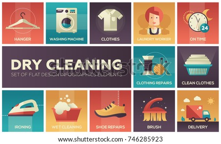dry cleaning   set of flat