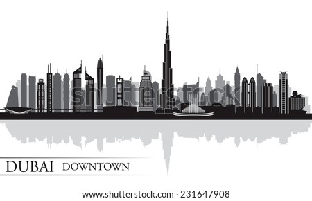 dubai downtown city skyline