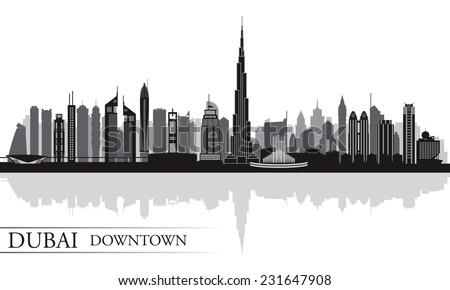 burj khalifa outline