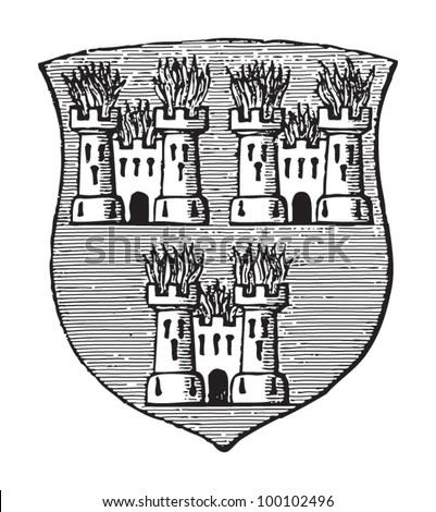 dublin coat of arms  capital of