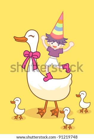 duck ang boy