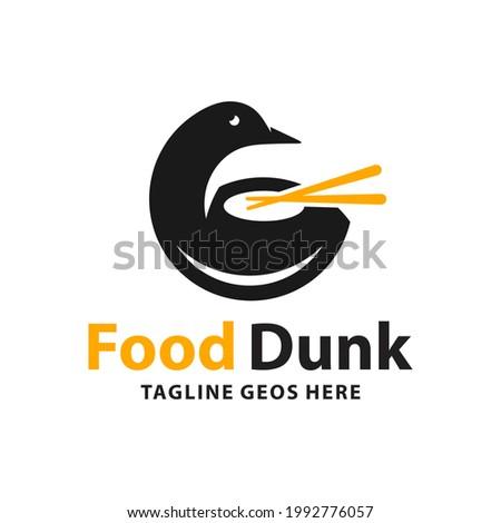 duck food variety logo design