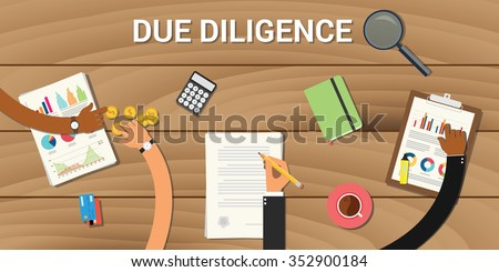 due diligence business graph