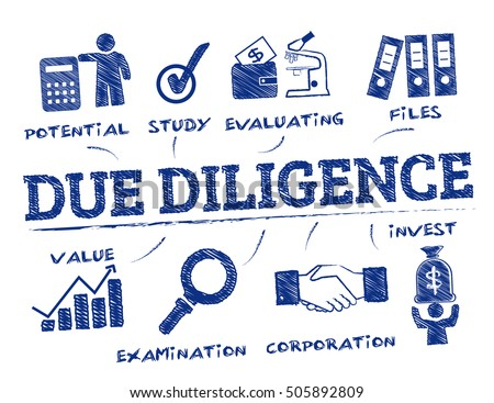 due diligence chart with