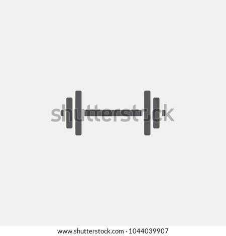 Dumbbell Flat Icon