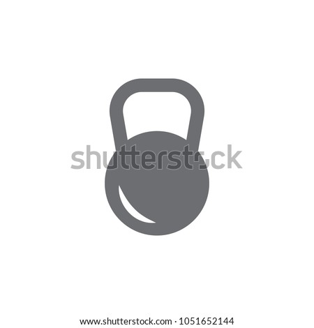 dumbbells icon. Simple element illustration. dumbbells symbol design template. Can be used for web and mobile on white background